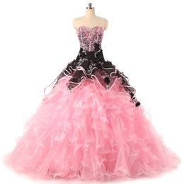 $enCountryForm.capitalKeyWord UK - Royal Queen's Prom Dress Eren Jossie Designer Sweetheart Beaded Lace Fashion Quinceanera Dress 2018 Ball Gown