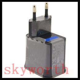 Toptan satış AC ABD AB Duvar Seyahat Şarj Güç Adaptörü Fiş SAMSUNG GALAXY TAB için 3 4 S P3200 P5200 T530 T230 TABLET PC