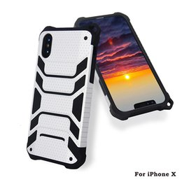 $enCountryForm.capitalKeyWord NZ - Hybrid Armor Case For iphone x 8 plus For samsung note 8 s8 plus Dual Layer Protective Shockproof Cover With Retail Packaging