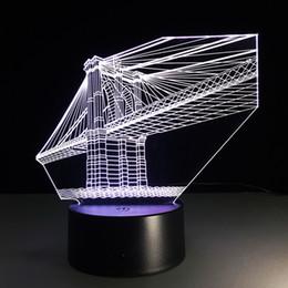 $enCountryForm.capitalKeyWord Canada - 2016 Bridge 3D Optical Illusion Lamp Night Light DC 5V USB Charging 5th Battery Wholesale Dropshipping Free Shipping