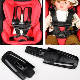 Barato Fechadura Criança Carro-Safe Lock Car Criança Clip Buckle Latch Baby Safety Seat Strap Belt Harness Knots Belt Fastener Car Styling