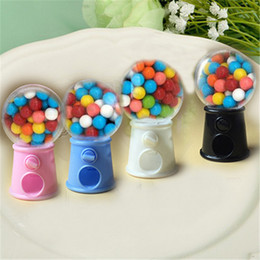 $enCountryForm.capitalKeyWord NZ - FREE SHIPPING 12PCS Cute Mini Candy Gumball Dispenser Kids Toy Vending Machine Saving Coin Bank Sweet Table Decors