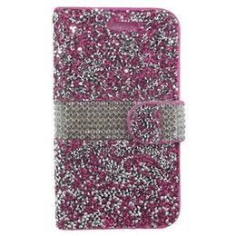 bling credit card UK - Hybrid Bling Rhinestone Diamond PU Leather Wallet Cover Case Credit Card Slot for Samsung Galaxy Note 5 A5 2016 A510 A7 2016 A710