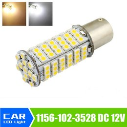 s25 led bulb NZ - 1156 BA15S 102 SMD 7w r5w Light s25 p21w LED Car 12V led Bulbs Lamp parking car Tail Brake Turn Signal light source