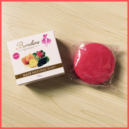 Factory For hairs online shopping - Factory Direct DHL Free New Package g Bumebime Handwork Whitening Soap with Fruit Essential Natural Mask White Bright Oil Soap