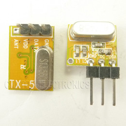 433mhz transmitter receiver module online shopping - Small New Arrival Super heterodyne ASK OOK RF Wireless RX TX Modules MHZ