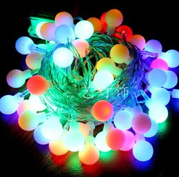 Discount twinkle lights wedding decoration 2018 twinkle lights colorful round bulb string lights 220v 100 led string lights 10 m wedding twinkle decorationfree shipping twinkle lights wedding decoration outlet junglespirit Gallery