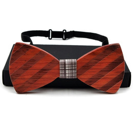 Unique Ties Canada - Unique handcrafted wooden bow ties Custom LOGO Customize Design Europe and America Style, 8 styles, handmade, Wenge, Rosewood, Black walnut