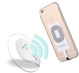 Wholesale Receptors Qi Charger wireless Receiver Charging Adapter Receptor Receivers For Samsung Galaxy S3 S4 S5 NOTE2 NOTE3 NOTE4 IPHOE ANDRIOD