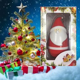 Best Mobile Speakers Australia - Santa Claus Speaker Santa's Tumbler Bluetooth Speaker Tumbler Touch Music Player Roly-Poly KT08 Speaker Best Christmas Gift For KidsWith Box