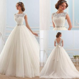 Online Shopping Vestido De Noiva Lace And Tulle Bride Wedding Dress Princess Tube Top Beading