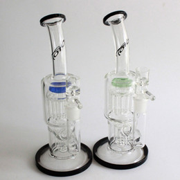 "China 10"" toro glass bong oil rig glass bongs 13  7Arm percolator dab rig 18.8MM smoking pipe bongs suppliers"
