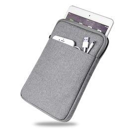 $enCountryForm.capitalKeyWord UK - Zipper Nylon Tablet Cover Case for funda iPad air Inner Soft Fur Light Weight Sleeve Pouch Bag for iPad Pro 9.7 for iPad mini 23