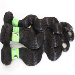 Human Hair Extensions Delivery Canada - 8A Brazilian Hair Weave Cuticle 10-28inch 5bundles lot Natural Color Body Wave Tangel Free Human Hair Extension Fast Delivery