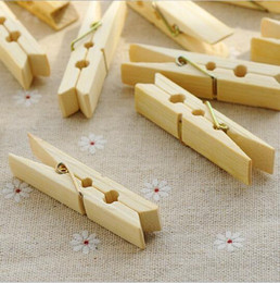 $enCountryForm.capitalKeyWord UK - 20 pcs pack Cleaning Tools Wood Sealing Clip Bamboo Laundry Clips Multifunction Clothespin Anti-wind Clothespin Drying Socks Portable