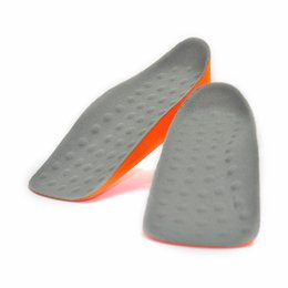 $enCountryForm.capitalKeyWord Canada - 1 pair Massager Insole PU Taller 2 cm Height Increase Elevator Shoe Pads Arch Support Pad Lifts Inserts Unisex Insoles