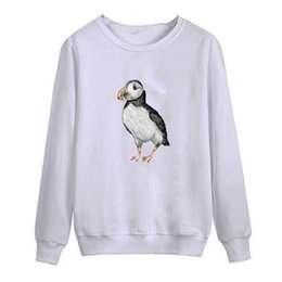 New Little Puffin 2018 autumn this is me printed Men O Neck T Shirt Casual long Sleeve Slim Fit