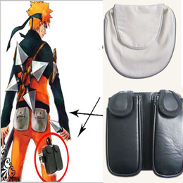 HOT Anime NARUTO Accessories Naruto Hatake Kakashi Dedicated COS Waist Bag Quality Halloween Chrismas White Black