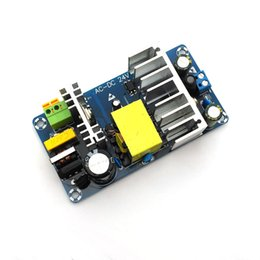 China 1Piece Free shipping AC 100-240V to DC 24V 4A 6A switching power supply module AC-DC suppliers