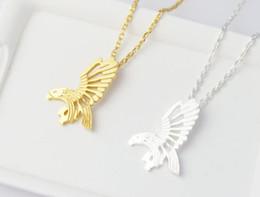 Wholesale eagle best online – design Hot sell hippie chic eagle pendant necklace Bohemian fashion women Neclaces ms thin necklace festival best gift