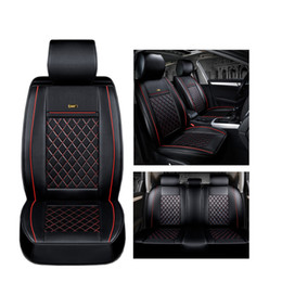 $enCountryForm.capitalKeyWord NZ - ( Front + Rear ) Luxury Leather car seat cover for Chevrolet All Model Cruze Malibu Sonic Trax Sail auto accessories car styling
