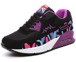 Новое прибытие Подушка Мужчины Спортивная обувь Спорт для Runner Спортивные кроссовки Женщины Открытый Mesh дышащая обувь