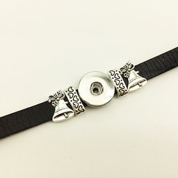18mm watch bracelet online shopping - Fashion New Promotion Strand Bracelets Girls Watch Bracelets For Christmas Leather Snap Button Bracelet Bt268 fit mm mm Snaps party dr