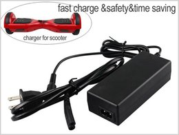Discount hoverboard battery - Hoverboard Charger 42V 2A for scooter Universal Charger Battery charger for electric scooter smart balance boardUS UK AU