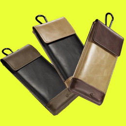 Leather beLt Loop cases online shopping - CaseMe Sport Wallet Outdoor Hook Loop Belt Pouch Holster Leather Phone Bag Holder Cover for iphone samsung DHL Free SCA144