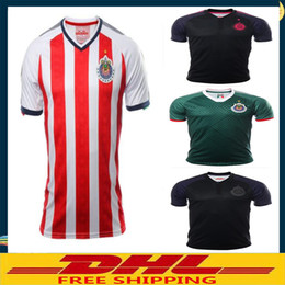 b6d8e5650e3 ... clearance dhl free shipping 2017 2018 mexico club chivas de guadalajara soccer  jersey home away 17
