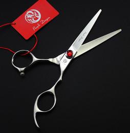 "Hair Cutting Scissors Razors Canada - #533 5.5"" Professional Purple-Dragon Hair Scissors,HIKARI JP440C Cutting Shears for Hairdressers,Top Quality Shortest Salon Home Razor"
