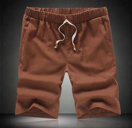 Mens Linen Drawstring Shorts Online | Mens Linen Drawstring Shorts ...