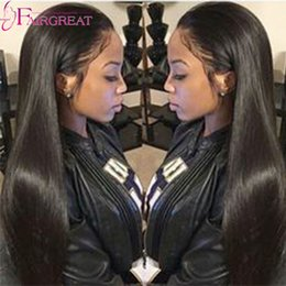 28inch peruvian straight hair 2019 - Peruvian Straight Human Hair Weave Bundles Natural Color Double Weft Straight Human Hair Extensions 8-28inch 4Bundles Fr