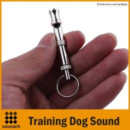 Small Train Whistle Canada - 1pcs UltraSonic Pet Adjustable Training Dog Sound Whistle Silver Koudi Dog Training Obedience High Quality Free Shipping Wholesale