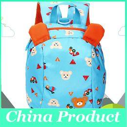 $enCountryForm.capitalKeyWord NZ - Wholesale-backpack kindergarten girls boys children school backpack school bag cartoon detachable bear the lost snack pack 1-4 year 010259