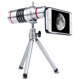 Mobile 18x Zoom Canada - Hot sale mobile phone 18x Camera Zoom optical Telescope telephoto Lens For apple iphone 6s 6 plus samsung s 7 s6