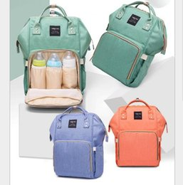 brand stroller Canada - Sales Promotion Free Shipping Mummy Maternity Diaper Bag Mom Backpack Brand Large Capacity Baby Bag Mother Stroller Bag