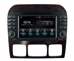 $enCountryForm.capitalKeyWord NZ - Octa core Android9.0 PX5 RAM 4G ROM 32G Car DVD GPS Na vigation for Mercedes Benz S Class W220 S280 S320 S350 S400 S420 S430 Stereo Radio