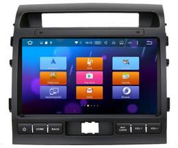 8-Core Android 6.0 10.2 pulgadas Car DVD Gps Navi Audio para Toyota Land Cruiser LC200 2008-2013 Soporte 3G 4G DVR Volante DAB + en venta