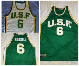 ... University of San Francisco 6 Bill Russell Jersey any Custom name dd39f4018