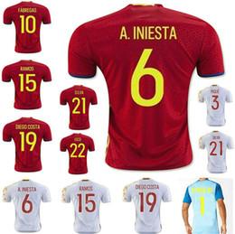 39de9db9e ... sale brazil world cup spain home red fan jerseys plus size form xxl  2016 spain soccer