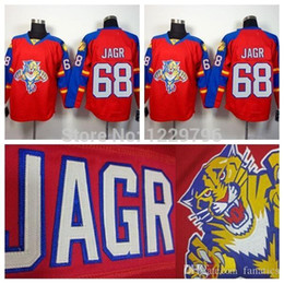 3436c0532 2016 Men's Florida Panthers Ice Hockey Jerseys #68 Jaromir Jagr Jersey home Red  Cheap Jaromir Jagr Stitched Jersey Best Quality