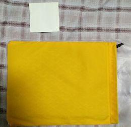 Alta qualidade marca designer gy sacos de embreagem com bolsa de fronteira de couro com bolso do telefone GY saco de embreagem tamanho Grande com dustbag amarelo