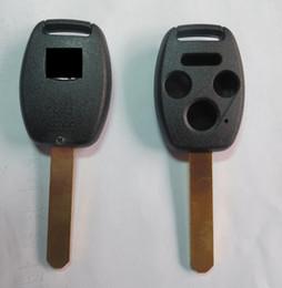 $enCountryForm.capitalKeyWord NZ - KL13 Replacement Keyless Remote Key Fob Shell Uncut Blade 4 Buttons For Honda Black car key blank