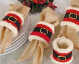Christmas Napkin Rings Wholesale NZ - Christmas Napkin Rings Serviette Holder Party Banquet Dinner Table Decor HJIA757