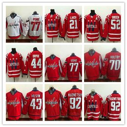 ... Washington Capitals Men Hockey Jerseys 52 Alex Ovechkin 21 Backstrom 77  TJ Oshie 70 Braden Holtby Mens Evgeny Kuznetsov Washington Capitals 92 ... 6ee22efb184f