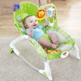 Electric Beds Canada - 2016 Hot Sale electric baby crib rocking chair cradle baby swing shaking bed baby bouncer Free shipping Rocking Chairs