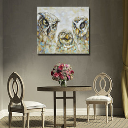 decor eagles Canada - Abstract Animal Pictures on Canvas Home Decor Sitting Room Wall Pictures Eagle Oil Painting 1 Peices No framed
