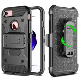 $enCountryForm.capitalKeyWord Canada - 360 Degree Rotating Armor Case For Iphone 7 7Plus 7G I7 6 6S Plus I6S I6 Hybrid Hard PC TPU Stand Shockproof Clip Belt Fish Scale Cover Skin