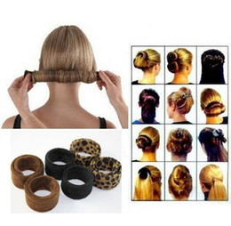 $enCountryForm.capitalKeyWord Canada - Suitable for all hair types 1pcs fashion hairband Hairpin Hairagami Bun Tail Hairagami Fashion Black Leopard Women Styling Tools